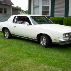 my 80 cutlass supreme