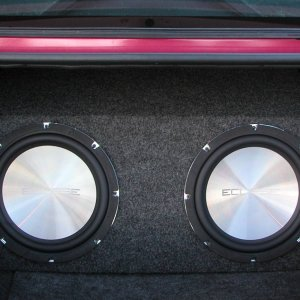 "12"" Eclipse Subwoofers"