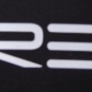 RE logo on cone