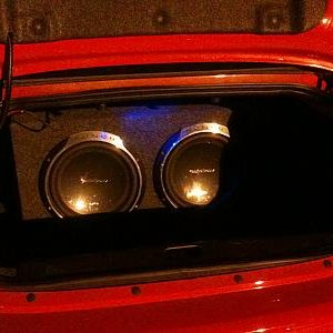 "2 Rockford Fosgate Punch P3 12"" 500WRMS Subwoofers in First sealed box"