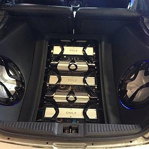 Exile Car Audio installation in 2004 Hyundai Tiburon