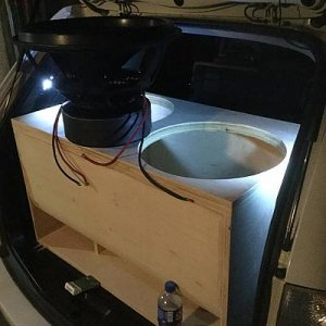 Finally Installing Subs