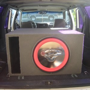 "Cerwin Vega VMAX 15"" in Custom Ported Enclosure"