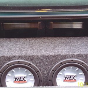 subs amps and cap