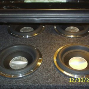 "4 10"" Clif Designs CD100Ws Sealed"