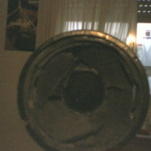 "8"" woofer destruido"