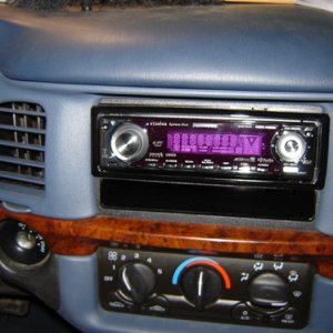 Kenwood X590 in teh Impala
