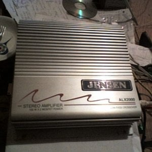 my new amp jensen