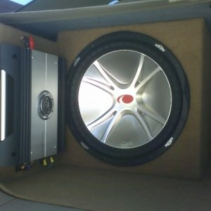 Kicker in my KIA