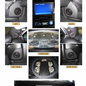 Mercedes C230 Sport 5.1 Audio System Photos