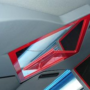 Custom Overhead Console with 10in Monitor