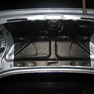 Cascade Sound Deadening Honda Accord Trunk Lid