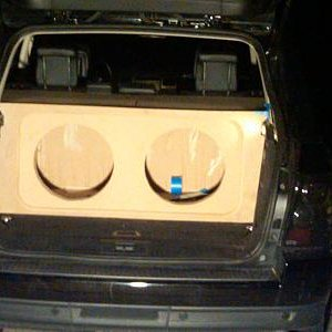 2008 Range Rover Sport Custom Stereo Build
