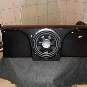 Defiant Audio, Fully custom fit Fiberglass sub box for Lamborghini, http://www.defiantaudiollc.com