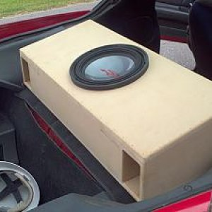 Alpine Type R 12 Dual Ported box
