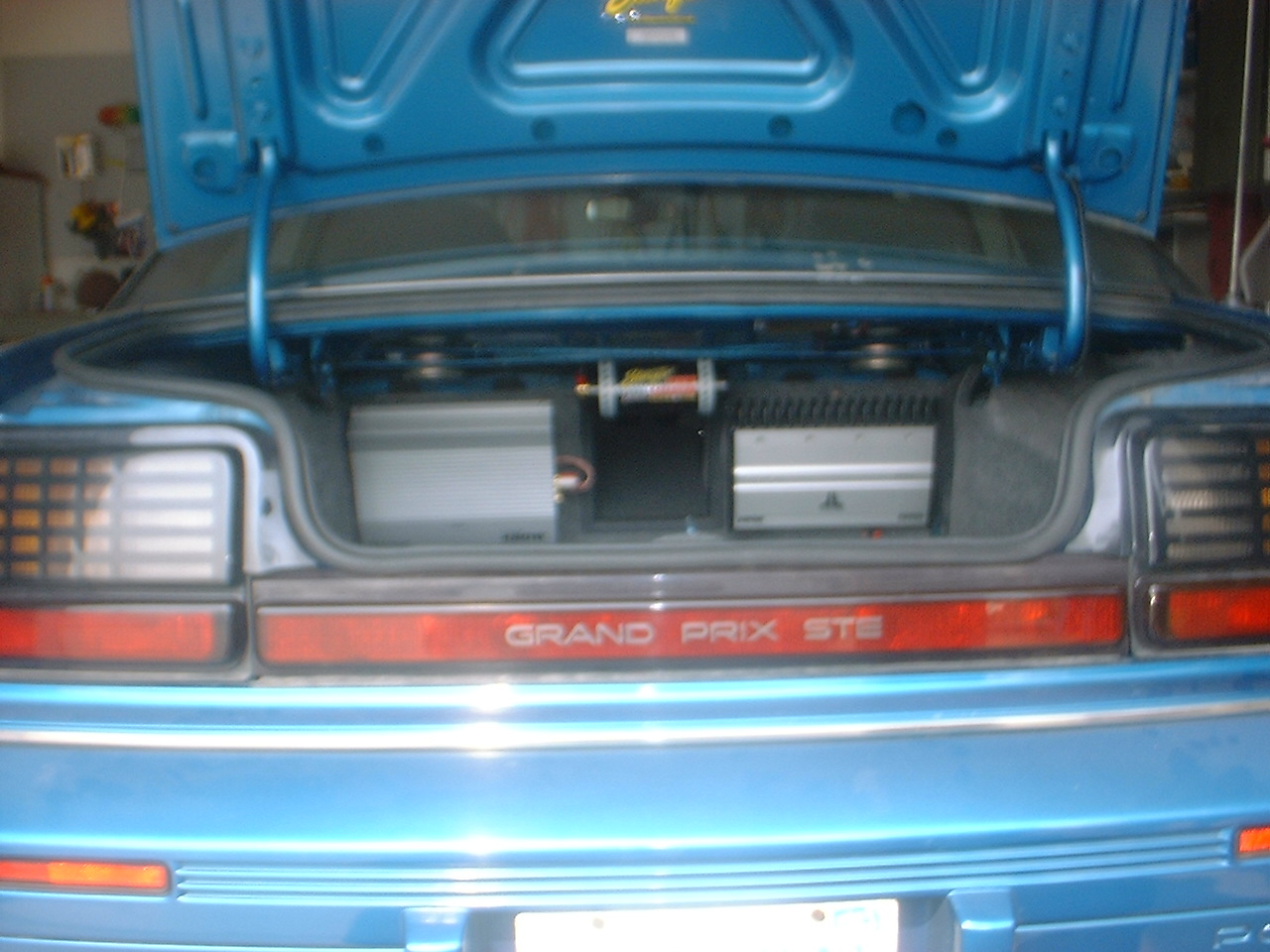 trunk wihtout subs in them